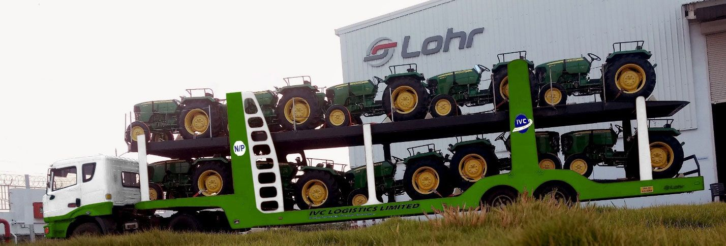 Specially Designed Lohr Higher Capacity Tractor Carrier